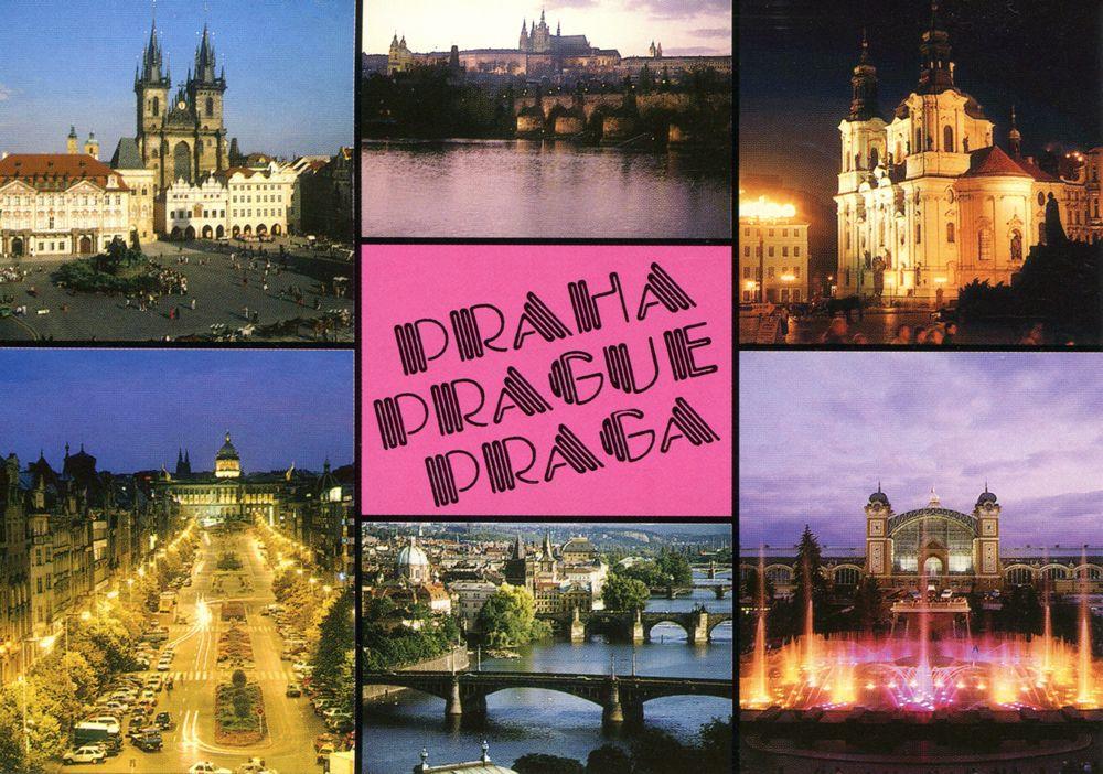 Europe Trip 1997 Stuttgart Dresden and Prague