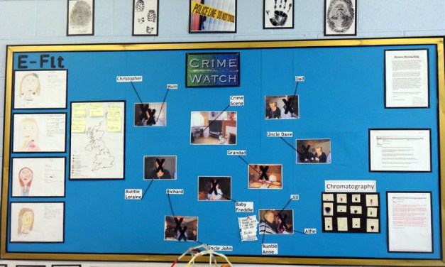 Science and History in Year 5…