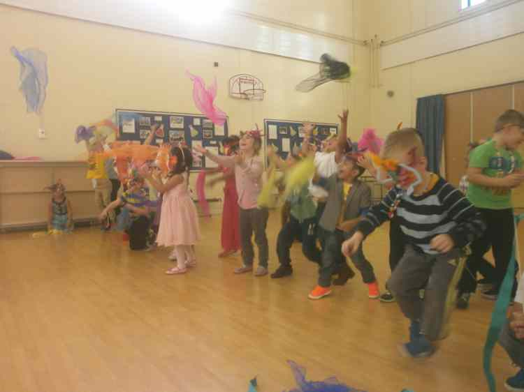 Class One – Our crazy, colourful carnival!