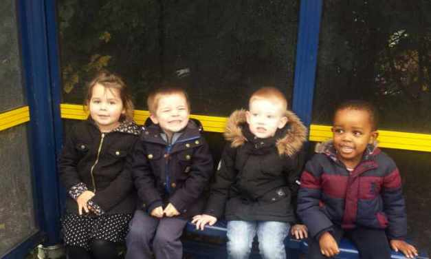 Daycare visit to Build a Bear Work shop