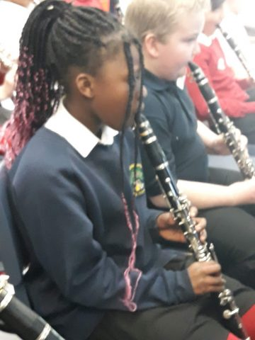 Musicians in the making…