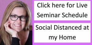 Live Seminar Class Schedule
