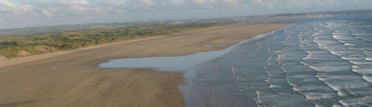 Saunton Sands Beach, Devon