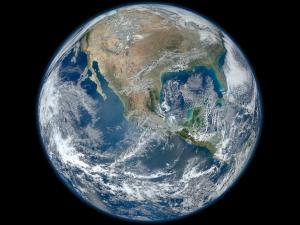 NASA Big Blue Marble image