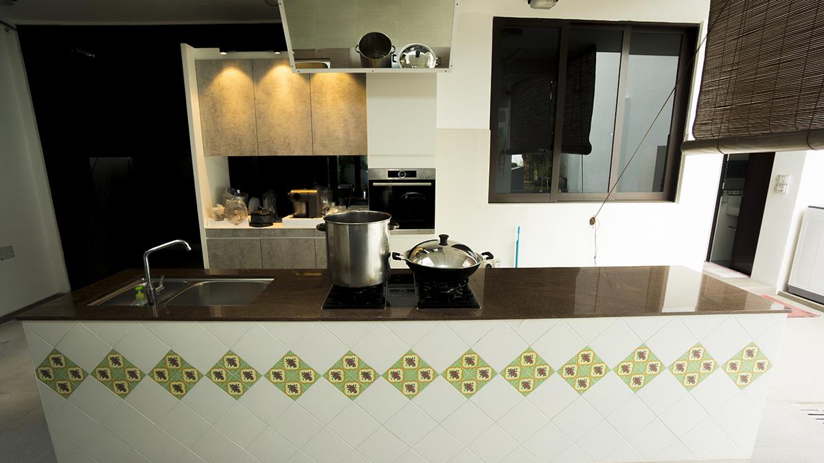 kitchen rental work station