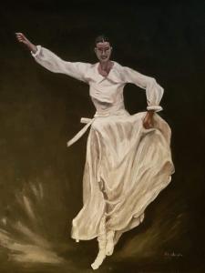 Le danseur (The dancer) – acrylique