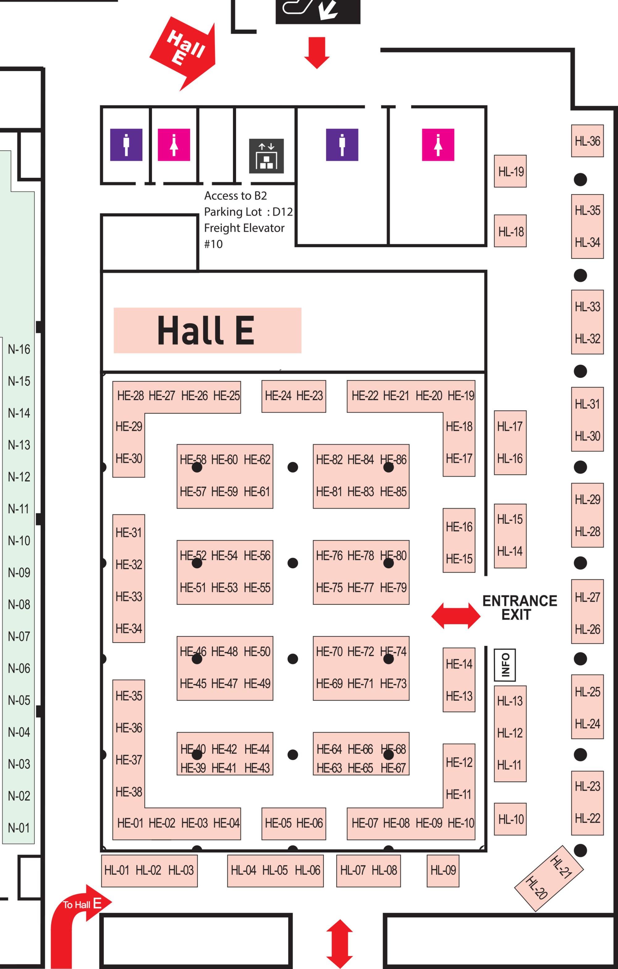 hight resolution of kimes2019 coex hall e