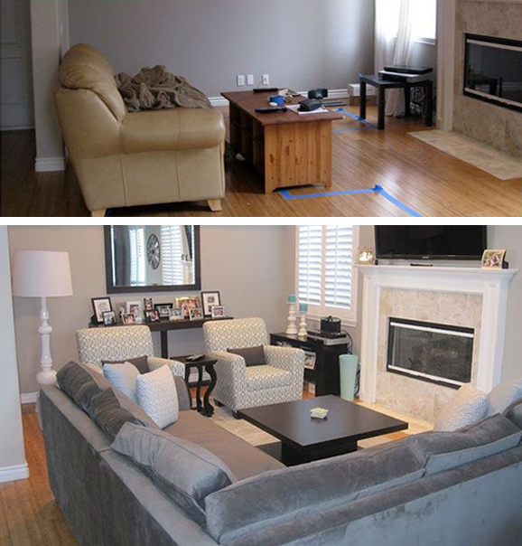 If you have a piece of furniture that no longer goes or is the wrong size, try selling it on kijiji and finding something else that would work better on the same site to replace it.