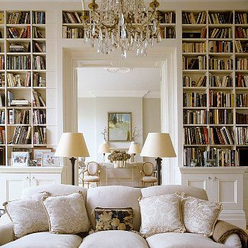 """""""When I have a house of my own, I shall be miserable if I have not an excellent library."""" -Jane Austen"""