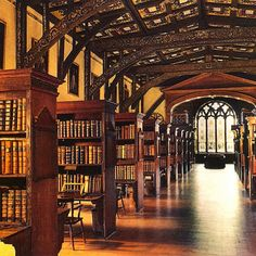 """Hogwarts. """"When in doubt, go to the library."""""""