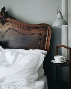 Combining beautiful dark wooden antiques with modern style