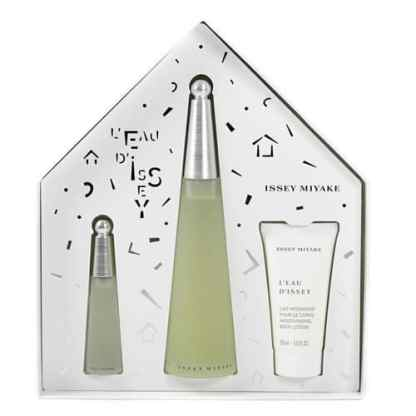 Issey Miyake L'eau d'Issey Gift Set 100ml EDT box