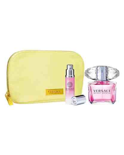 Versace Bright Crystal Gift Set 90ml EDT