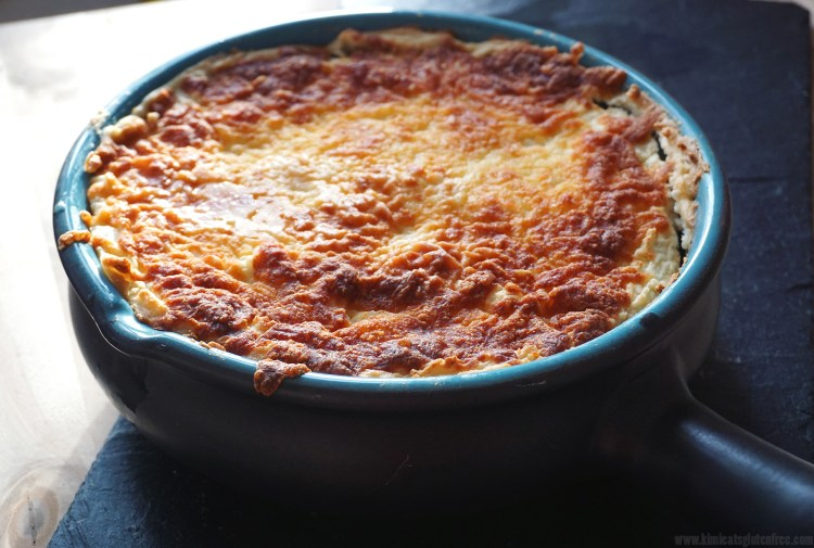 Gluten free cheesy cottage pie with gourmet mash