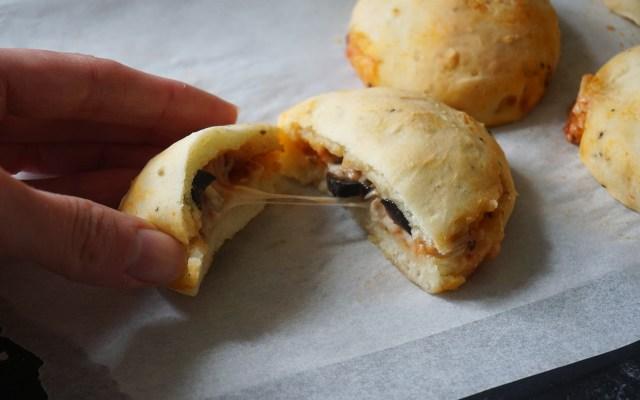 Gluten Free Hot Pockets {Homemade McCain's Pizza Pockets}