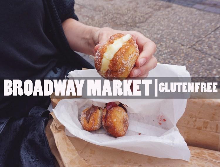 Gluten free doughnuts from Floris Foods | Floris Bakery | Gluten free Broadway Market guide | Hackney, London