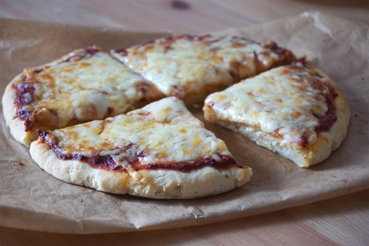 Gluten & dairy free yoghurt pizza dough recipe