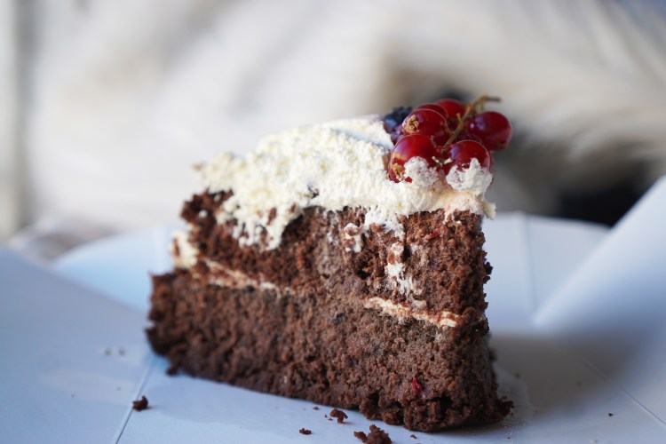 Gluten free chocolate cake from Romeo's Sugar Free Bakery in Islington | Gluten Free Islington Guide