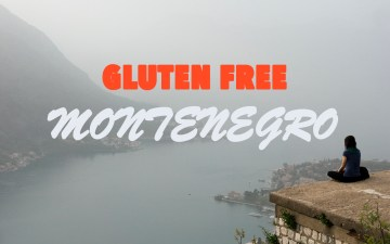 My gluten free experience in Montenegro | Gluten free Travel | Kotor city wall walk up the mountains to St John's Fortress