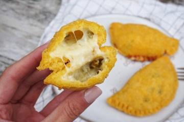 Gluten free jalapeño & cheese empanadas
