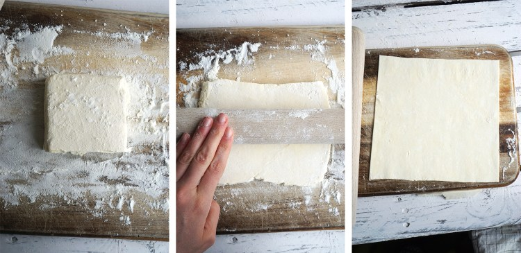 How to roll frozen Genius gluten free puff pastry