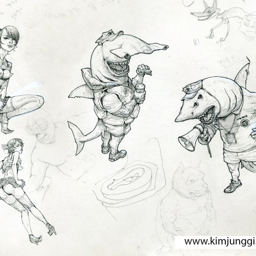 10 - Kim Jung Gi