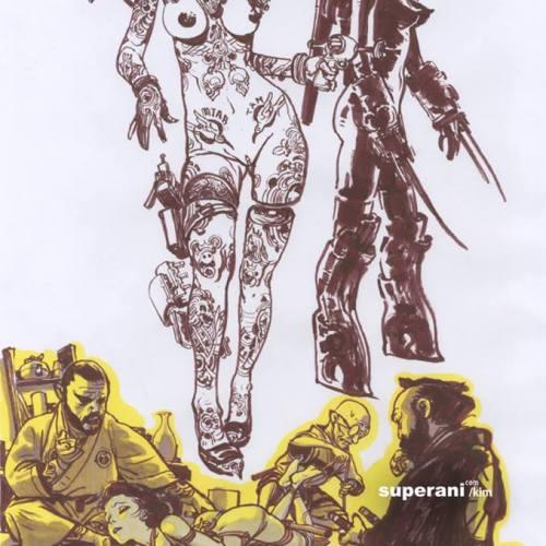 Tatoo and bondage