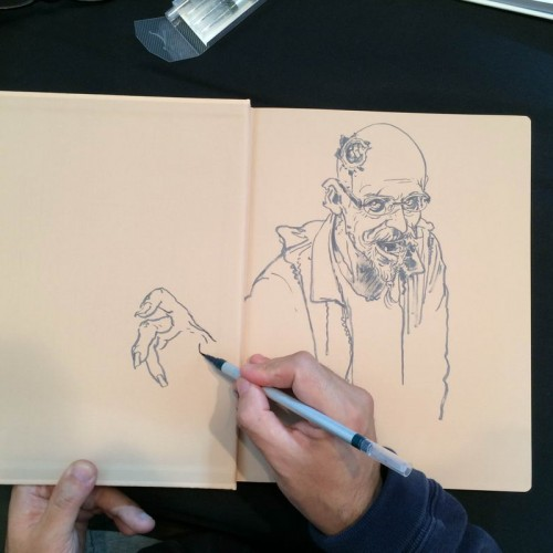 007 - Kim Jung Gi sketch dédicace