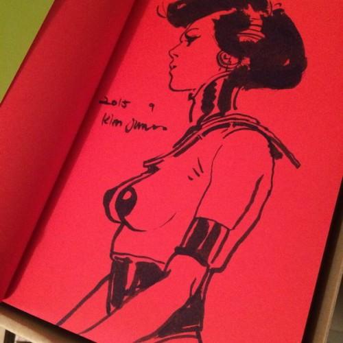 019 - Kim Jung Gi sketch dédicace