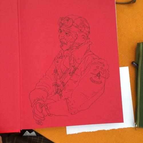 038 - Kim Jung Gi sketch dédicace