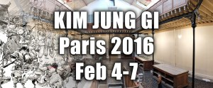 Bastille Design Center - Kim Jung Gi exhibition feb 2016 + titre