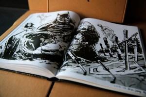 Kim Jung Gi sketchbook 2016 content 04