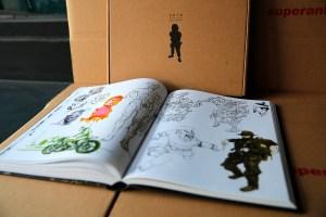 Kim Jung Gi sketchbook 2016 content 06
