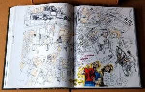 Kim Jung Gi sketchbook 2016 content 08