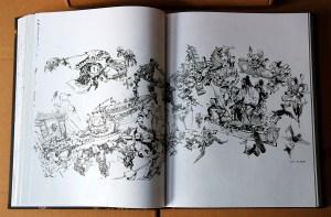 Kim Jung Gi sketchbook 2016 content 09