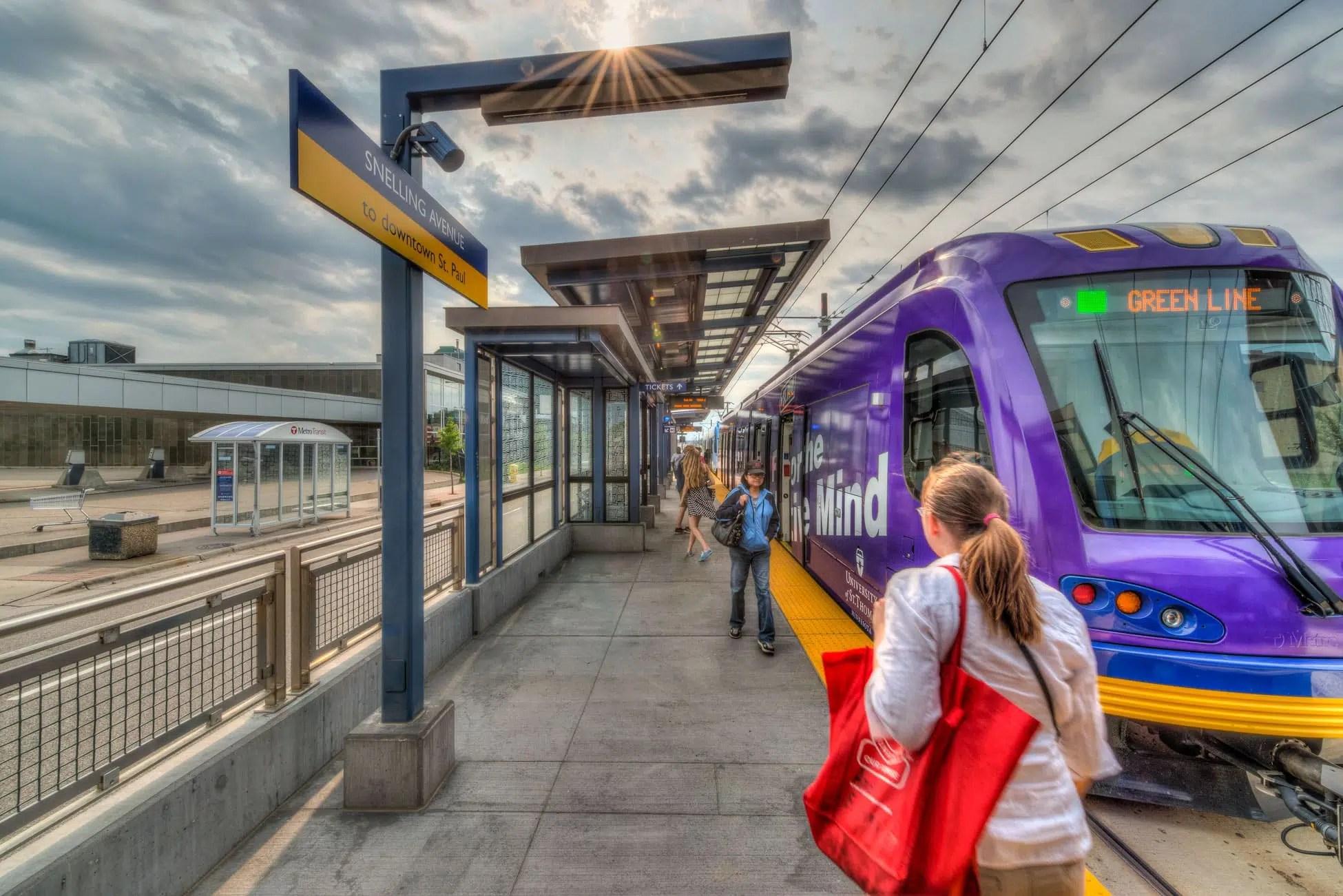 Metro Transit Central Corridor Light Rail  KimleyHorn