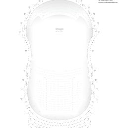verizon hall second tier seating chart [ 1500 x 2057 Pixel ]