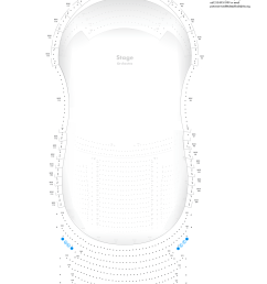 verizon hall third tier seating chart [ 1500 x 2025 Pixel ]
