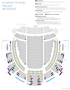 Academy of music broadway verizon also kimmel center seating charts view seat selection rh kimmelcenter