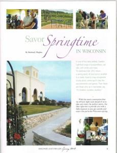 Savor Springtime