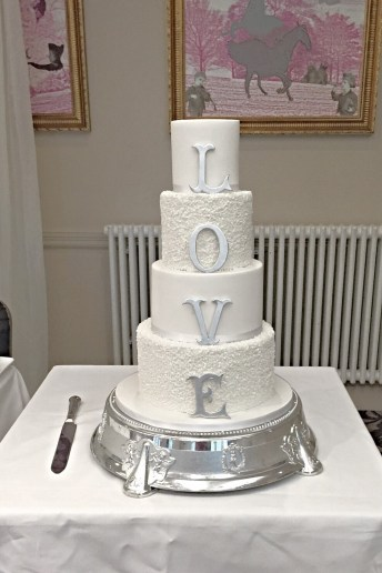 Luxury wedding cakes Scotland