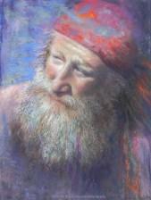 Mountain Man, Original Painting by Kim Novak. Copyright 2014 Kim Novak. All rights reserved.