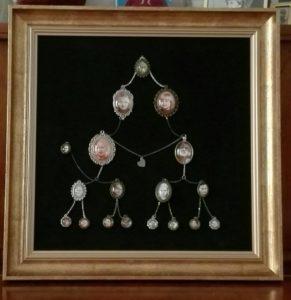drzewo genealogiczne ze zdjęciami przygotowane prze Panią Ewę Otceten
