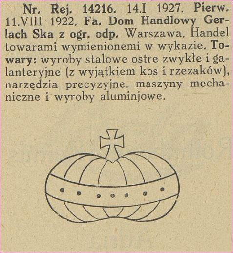 Bracia Kobylańscy dawniej S. Gerlach Dom Handlowy