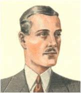 Drzewo genealogiczne portrety przodków mężczyzna lata 30-te XX wieku