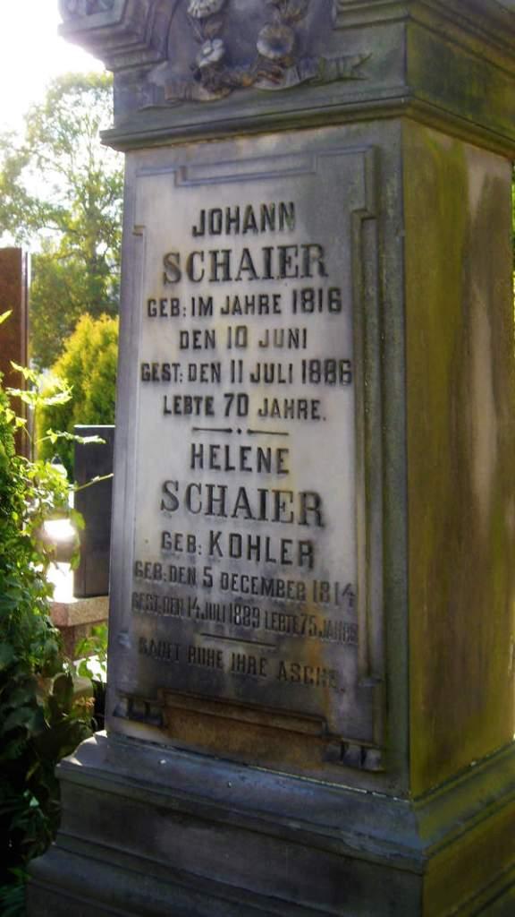 Rodzina Gerber z podwarszawskiego Józefosławia cmentarz