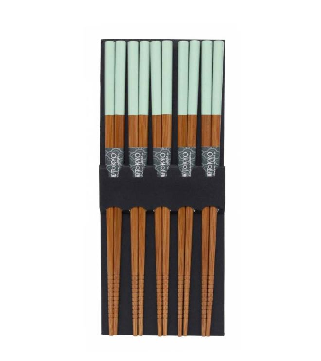 Ess-Stäbchen aus Bambus - Mint