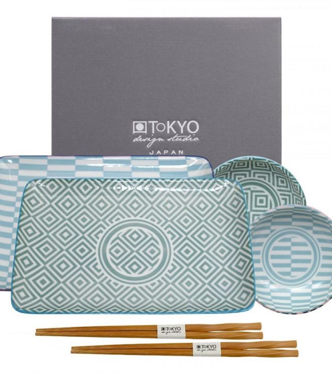 Teller, Schälchen & Chopsticks I Bild: KimonoManufaktur.de