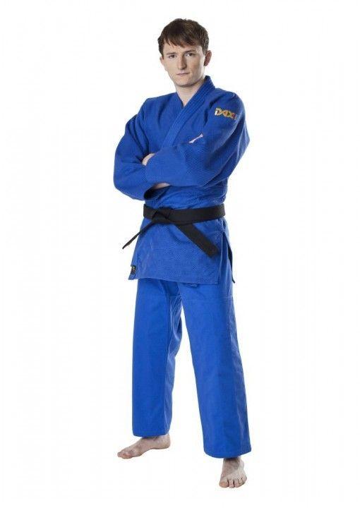 judo gi DAX tori gold azul 780