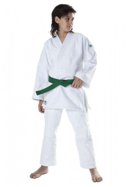 judo gi dax para niños blanco 450gr de dos piezas